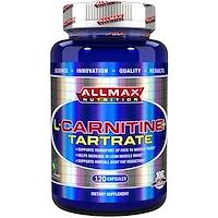 L-карнитина+ тартрат, 735 мг, 120 капсул - фото