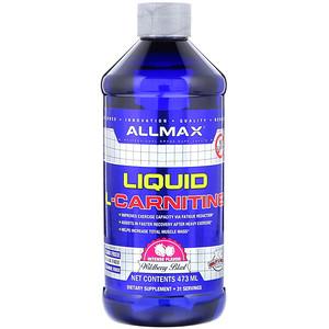 Оллмакс Нутришн, Liquid L-Carnitine, Wildberry Blast Flavor, 473 ml отзывы