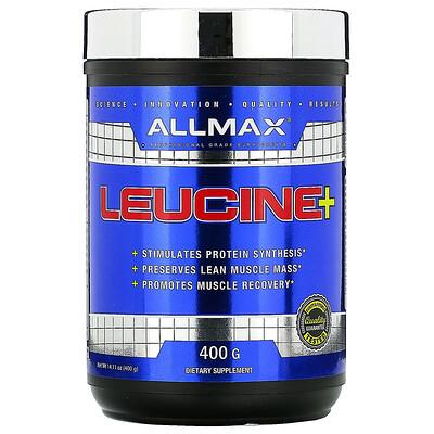 Купить ALLMAX Nutrition Лейцин, 5000мг, 400г (14, 1унции)