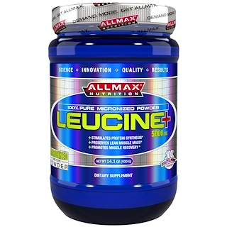 ALLMAX Nutrition, Leucine, 5000 mg, 14.1 oz (400 g)