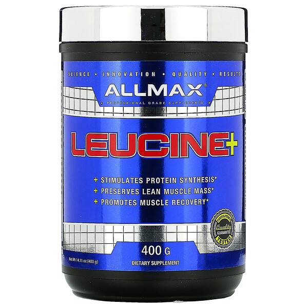 ALLMAX Nutrition, Leucine, 5,000 mg, 14.1 oz (400 g)