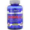 ALLMAX Nutrition, Omega-3 Fish Oil, Ultra-Pure Cold-Water Fish Oil, 180 Softgels