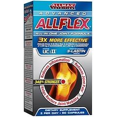 ALLMAX Nutrition, AllFlex Joint Health, 3x Strength Glucosamine + Collagen, 60 Capsules