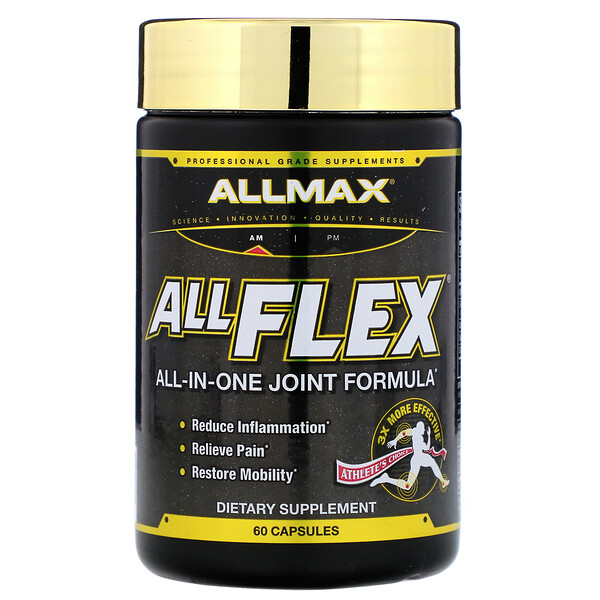 AllFlex, All-In-One Joint Formula, 60 Capsules