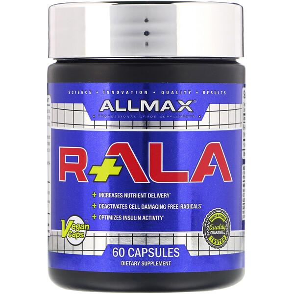 ALLMAX Nutrition, R+ALA, 60 Capsules