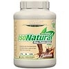 ALLMAX Nutrition, IsoNaturel, 100 % d'isolat de protéine de lactosérum naturel ultra-pur, Chocolat, 5 lbs