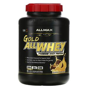 Оллмакс Нутришн, AllWhey Gold, 100% Premium Whey Protein, Chocolate Peanut Butter, 5 lbs. (2.27 kg) отзывы покупателей