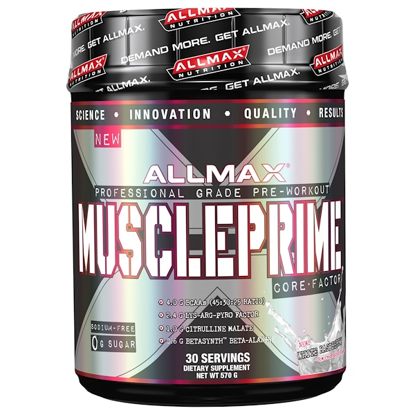 ALLMAX Nutrition, Muscleprime, Core Factor, White Raspberry, 20 oz (570 g) (Discontinued Item)