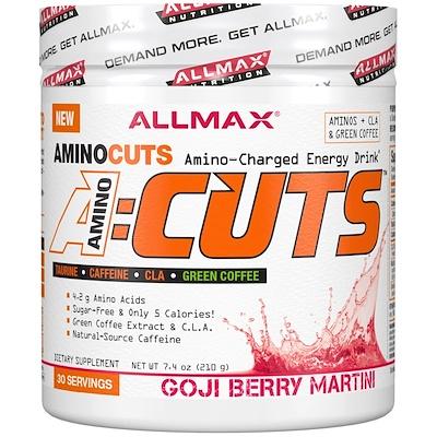 Купить ACUTS, Amino-Charged Energy Drink, Goji Berry Martini, 7.4 oz (210 g)