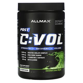 ALLMAX Nutrition, CVOL, Post, Coconut Lime Mojito, 13.2 oz (375 g)