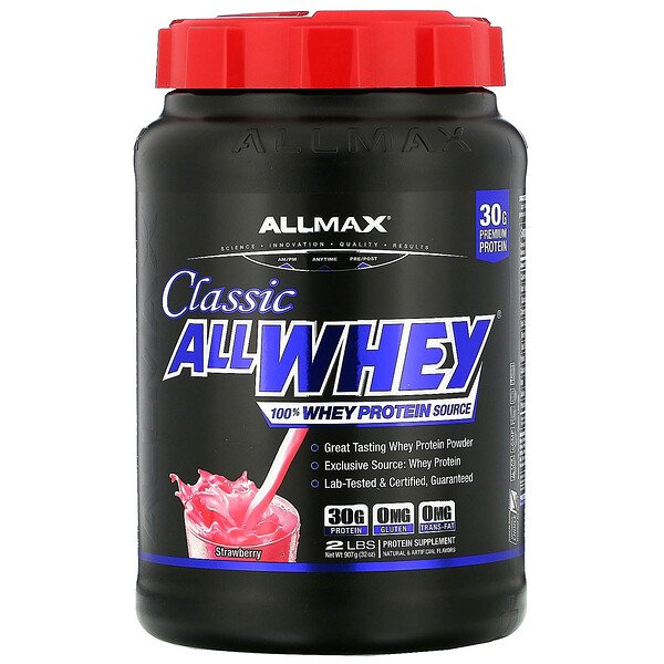AllWhey Classic, 100% Whey Protein, Strawberry, 2 lbs (907 g)