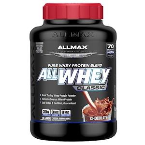 ALLMAX Nutrition, AllWhey Classic, 100% сывороточный протеин, шоколад, 5 ф. (2,27 кг)