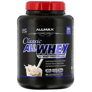ALLMAX Nutrition, AllWhey Classic, 100% Whey Protein, französische Vanille, 5 lbs (2,27 kg)
