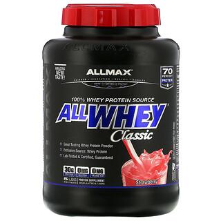 ALLMAX Nutrition, AllWhey Classic, 100 % Molkenprotein, Erdbeere, 5 lbs (2,27 kg)