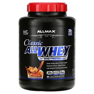 ALLMAX Nutrition, 经典 AllWhey,全乳清蛋白,巧克力花生酱,5 磅(2.27 千克)