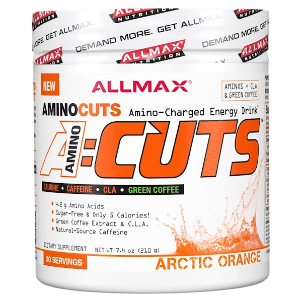 ACUTS, Amino-Charged Energy Drink, Arctic Orange, 7.4 oz (210 g)