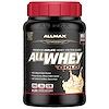 ALLMAX Nutrition, AllWhey Gold, 100 % proteína de lactosuero + asilado de proteína de lactosuero premium, pastel de cumpleaños, 2 lb (907 g)