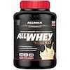 ALLMAX Nutrition, オールホエイゴールド、100%ホエイプロテイン+ プレミアムホエイプロテイン分離物、誕生日ケーキ、5 lbs (2.27 kg)