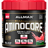 ALLMAX Nutrition, AMINOCORE, BCAA, 8G BCAAs, 100% Pure 45:30:25 Ratio, Gluten Free, Watermelon Candy, 1.02 lb (462 g)