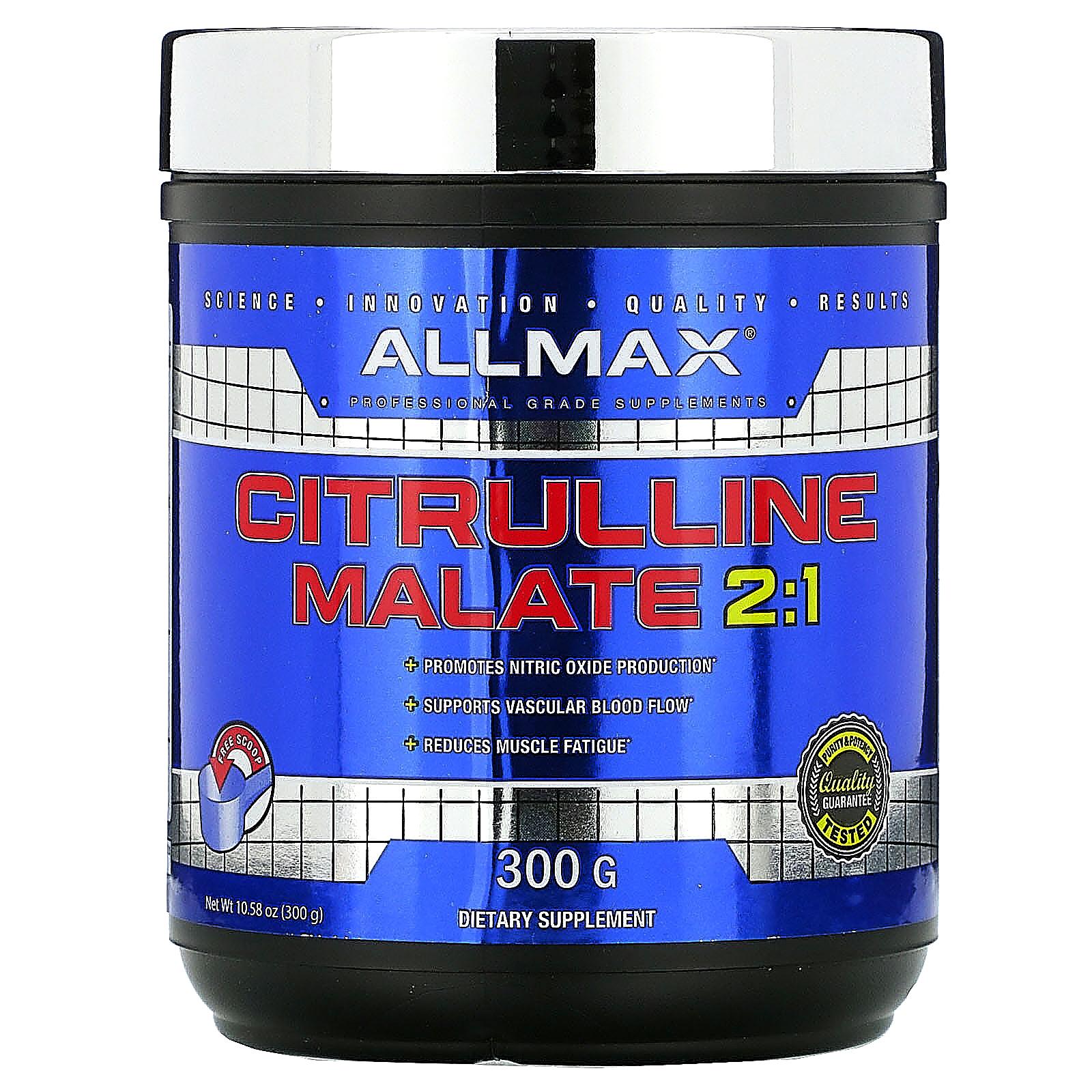ALLMAX Nutrition, Citrulline Malate, Unflavored, (300 g) - iHerb