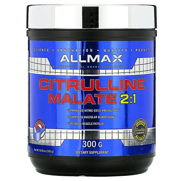 Citrulline Malate, Unflavored, (300 g)