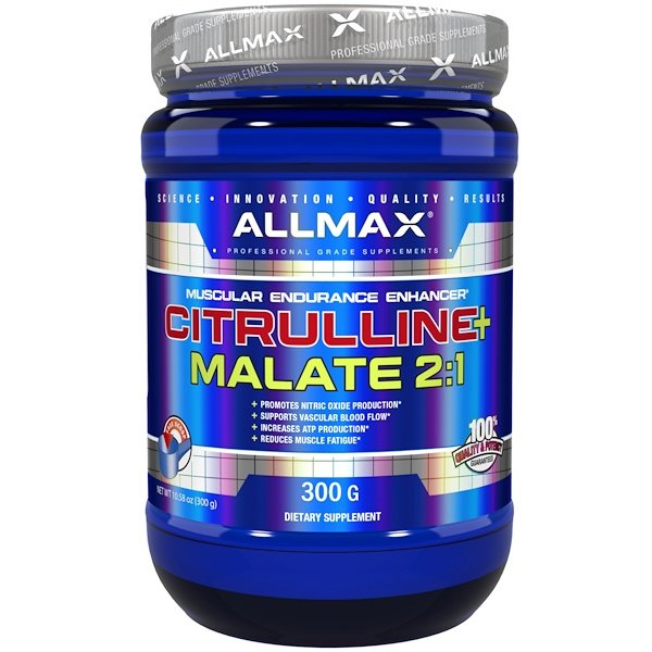 ALLMAX Nutrition, Citrulline Malate, Unflavored, (300 g)