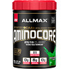 ALLMAX Nutrition, AMINOCORE, BCAA, 8G BCAAs, 100% Pure 45:30:25 Ratio, Gluten Free, Green Apple Candy , 2.57 lb (1166 g)