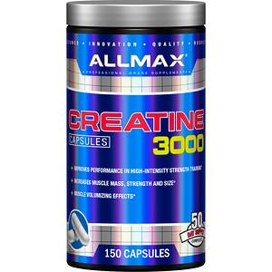 Оллмакс Нутришн, Creatine 3000, 3,000 mg, 150 Capsules отзывы