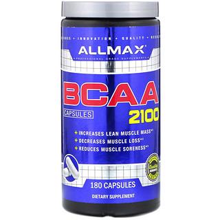 ALLMAX Nutrition, BCAA 2100, 180 Capsules