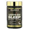 ALLMAX Nutrition, Lights Out Sleep, Melatonin + GABA + Valerian Root, 60 Vegan Capsules