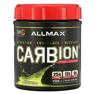ALLMAX Nutrition, CARBion+ with Electrolytes, Lemon Lime, 30.7 oz (725 g)
