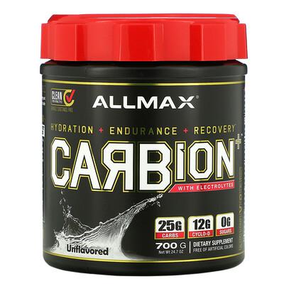Купить ALLMAX Nutrition CARBion+ with Electrolytes, Unflavored, 24.7 oz (700 g)