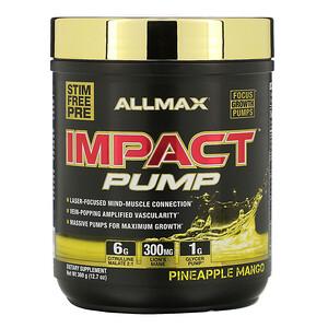 Оллмакс Нутришн, Impact Pump, Pineapple Mango, 12.7 oz (360 g) отзывы