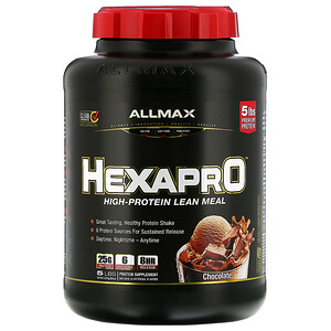 Оллмакс Нутришн, Hexapro, Ultra-Premium 6-Protein Blend, Chocolate, 5 lbs (2.27 kg) отзывы