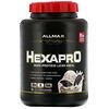 ALLMAX Nutrition, Hexapro, alimento magro con alto contenido de proteínas, Galletas y crema, 2,27kg (5lb)