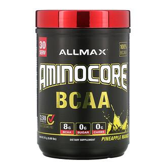 ALLMAX Nutrition, AMINOCORE, BCAA, 파인애플 망고, 315g(0.69lbs)