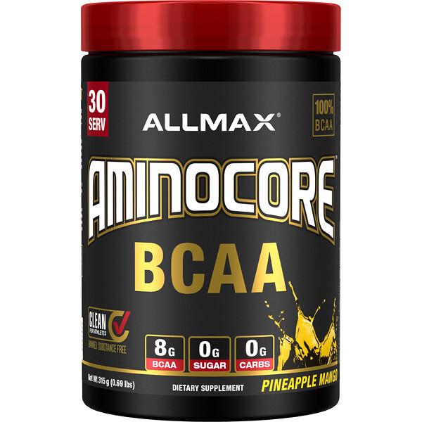 AMINOCORE BCAA, Pineapple Mango,  0.69 lbs (315 g)