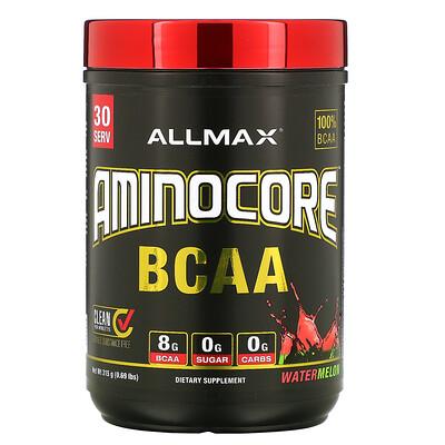 Купить ALLMAX Nutrition AMINOCORE BCAA, Watermelon, 0.69 lbs (315 g)