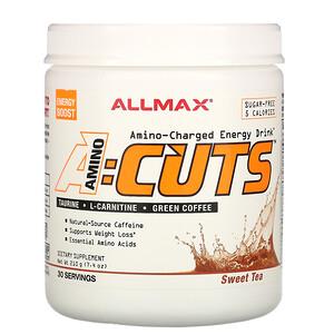 Оллмакс Нутришн, AMINOCUTS (ACUTS), Amino-Charged Energy Drink, Sweet Tea, 7.4 oz (210 g) отзывы