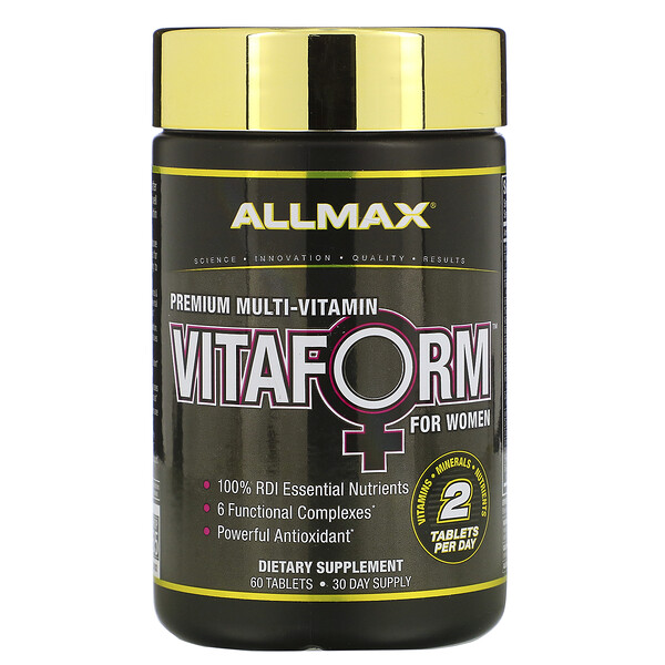 Vitaform, Premium Multi-Vitamin For Women, 60 Tablets