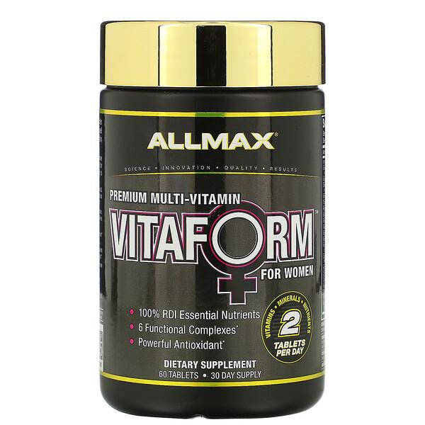 Vitaform, Premium Multi-Vitamin For Women, 60 Tablets