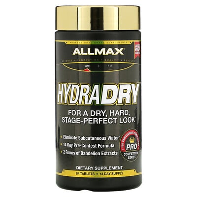 Купить ALLMAX Nutrition HydraDRY, 84 Tablets