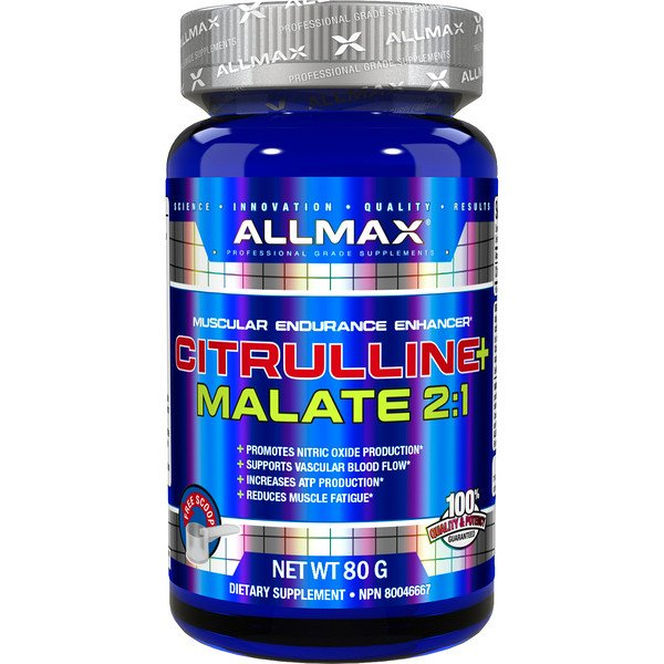 Citrulline Malate, Unflavored, (80 g)