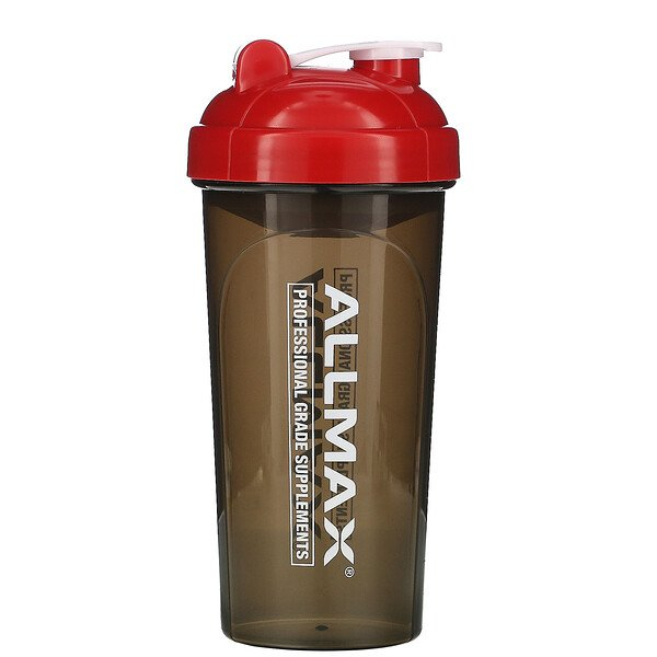 Leak-Proof Shaker, BPA-FREE Bottle with Vortex Mixer, 25 oz (700 ml)
