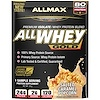 ALLMAX Nutrition, AllWhey Gold, 100% Whey Protein + Premium  Whey Protein Isolate, Salted Caramel Popcorn, Trial Size, 30 g