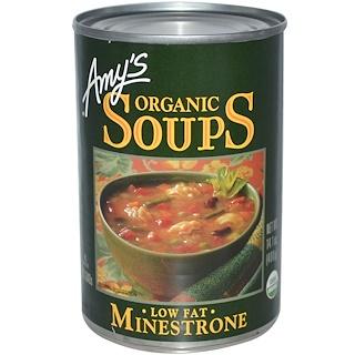 Amy's, Organic Soups, Low Fat Minestrone, 14.1 oz (400 g)