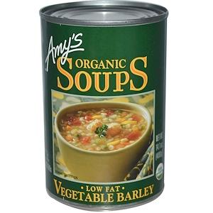 Амис, Organic Soups, Vegetable Barley, Low Fat, 14.1 oz (400 g) отзывы покупателей