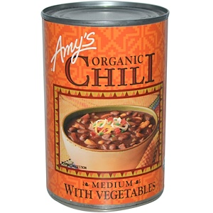 Амис, Organic Chili, Medium with Vegetables, 14.7 oz (416 g) отзывы