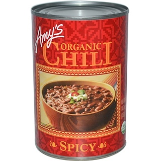 Amy's, Organic Chili, Spicy, 14.7 oz (416 g)