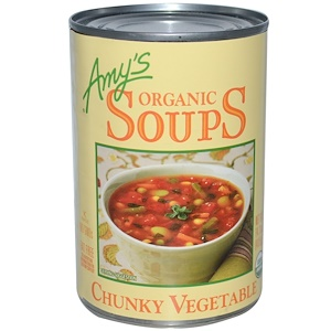 Амис, Organic Soups, Chunky Vegetable, 14.3 oz (405 g) отзывы